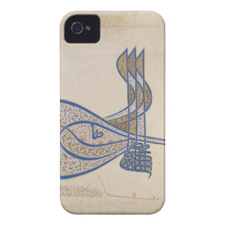 Tughra (Official Signature) of Sultan Süleiman Case-Mate iPhone 4 Case