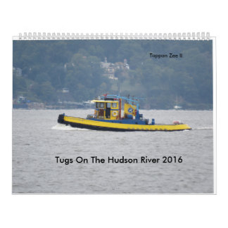 Tugs On The Hudson River 2016 Wall Calendars