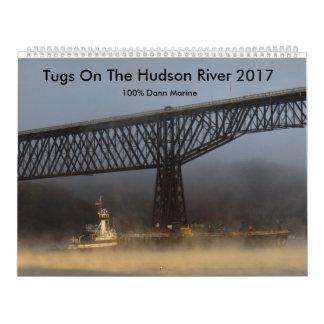 Tugs On The Hudson River 2017 Wall Calendar