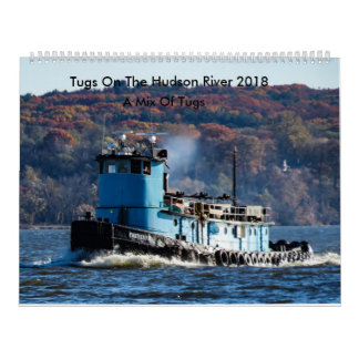 Tugs On The Hudson River-A Mix Of Tugs 2018 Wall Calendar