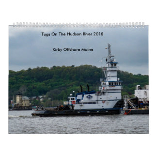 Tugs On The Hudson River---Kirby Offshore 2018 Wall Calendar