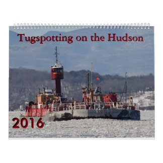 Tugspotting on the Hudson Mixed Tugs Wall Calendar