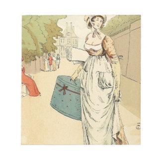 Tuileries 1802 notepad