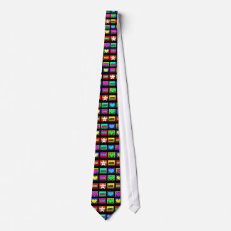 Tuiles de mosaïque de cravate de coeur de