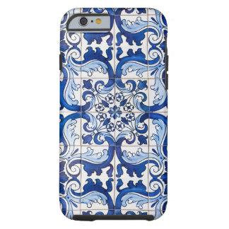 Tuiles vitrées par Azulejo de Portugais Coque iPhone 6 Tough