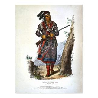 Tuko-See Mathla A Seminole Chief Postcard