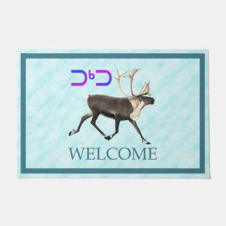 Tuktu - Caribou On Snow - Welcome Doormat