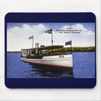 """Tula"" Wisconsin Transportation Co. Mouse Pad"