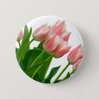 Tulip 2 Inch Round Button
