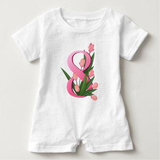 tulip 4 baby romper
