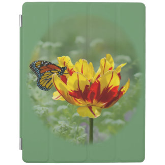 Tulip and Butterfly iPad Cover