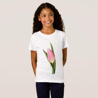 Tulip art: Girl's Jersey T-Shirt