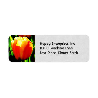 Tulip Art Return Address Label