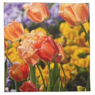 tulip bed napkin