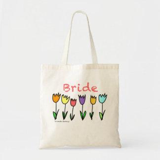 Tulip Bride Tote Bag