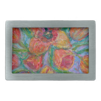 Tulip Burst Belt Buckle