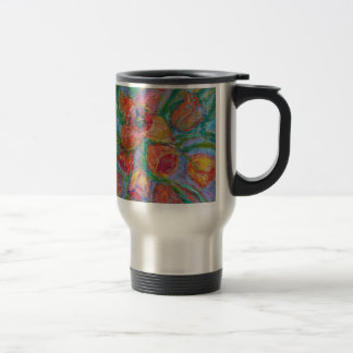 Tulip Burst Travel Mug