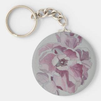 Tulip Button Keychain