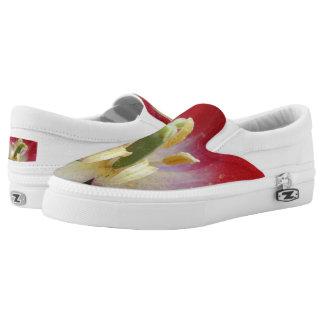 Tulip  Custom Zipz Slip On Shoes,  Men & Women