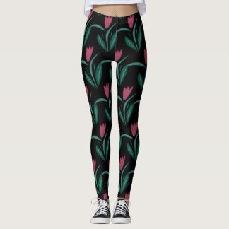 Tulip design leggings