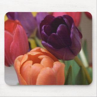 Tulip Designed Mouse Pad