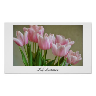 Tulip Expression Poster