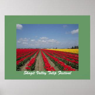 Tulip Festival, Skagit Valley Tulip Festival Poster