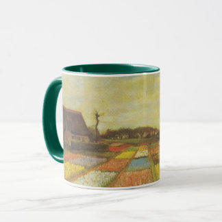 Tulip Fields by Vincent van Gogh Mug