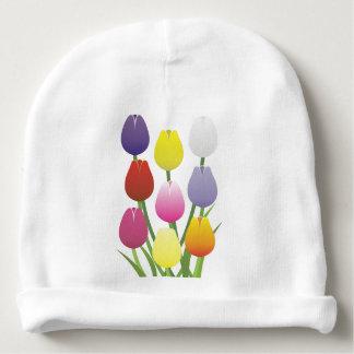 Tulip Flower Baby Beanie
