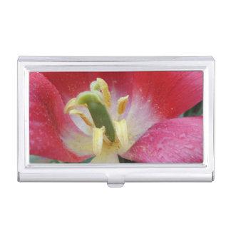 Tulip Flower Business Card Holder