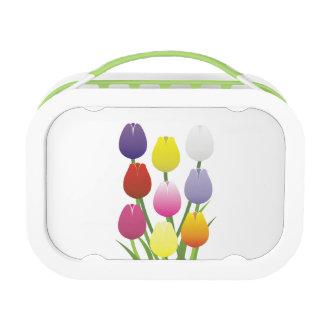 Tulip Flower Lunch Box