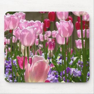 Tulip Garden Mouse Pad