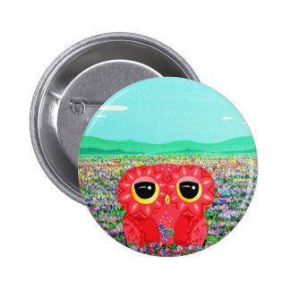 Tulip Love Affair Pinback Button