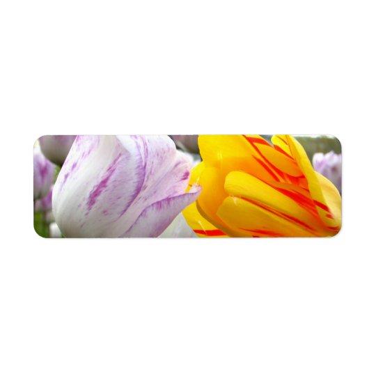 Tulip Love Return Address Label