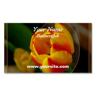Tulip Magnetic Business Card