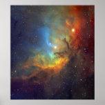 Tulip Nebula Poster
