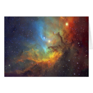 Tulip Nebula SH2-101 NASA Card