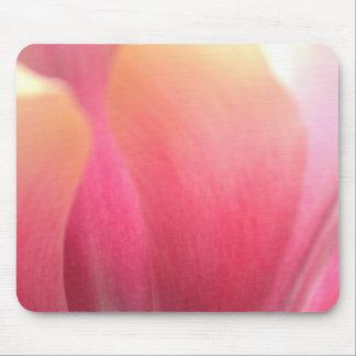 Tulip Petal Close-up Mousepad