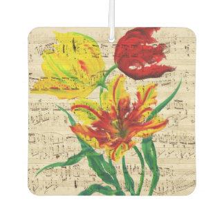 tulip songs car air freshener