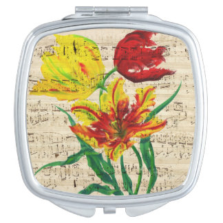 tulip songs compact mirror