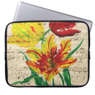 tulip songs laptop sleeve