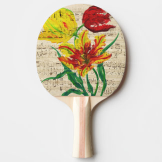 tulip songs ping pong paddle