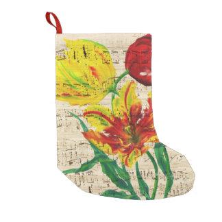 tulip songs small christmas stocking