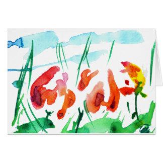 ''Tulip tale'' Card