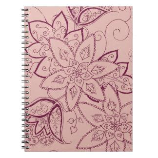 Tulip Tattoo Notebook (Rose)