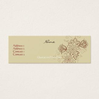 Tulip Tattoo Profile Cards (Sand)