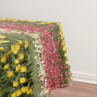 Tulip Time Floral Tablecloth