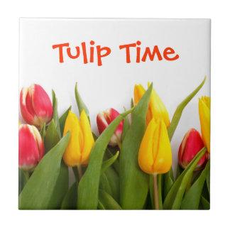 Tulip Time Tile
