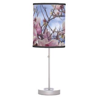 Tulip Tree Flowers Table Lamp