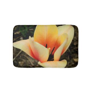 Tulipe de printemps tapis de bain